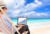 Entrepreneur : comment travailler 2 h par jour pendant vos vacances ?